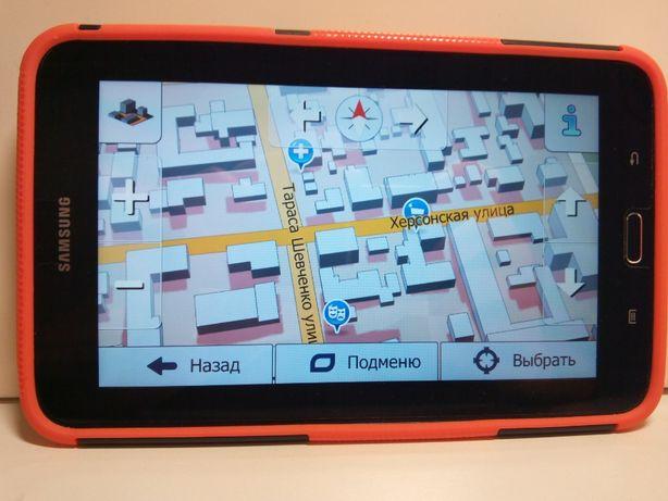 Планшет-Навигатор Samsung Galaxy. Карты IGO Primo - Truck Европа.