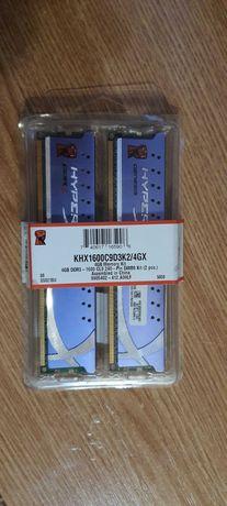 Оперативная память Kingston DDR3-1600 4096MB PC3-12800 (Kit of 2x2048)