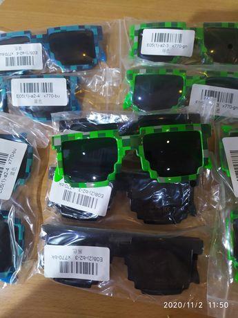 Nowe okulary Minecraft dla dzieci słoneczne UV400 przeciwsłoneczne