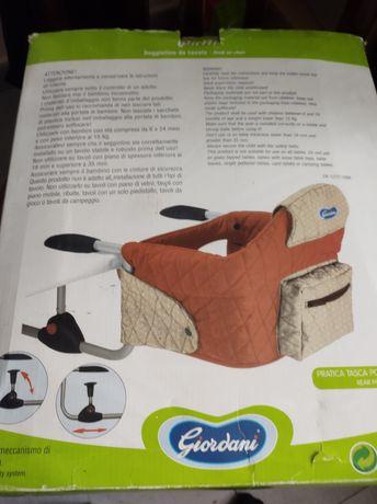 Krzesełko montowane do stołu
