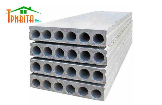 Плита перекрытия 6 м (панели ЖБИ) с доставкой на объект (все размеры)