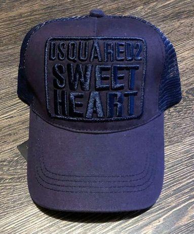 NOWA czapka z daszkiem - DSQUARED DSQ2 (truckerka z siatką)