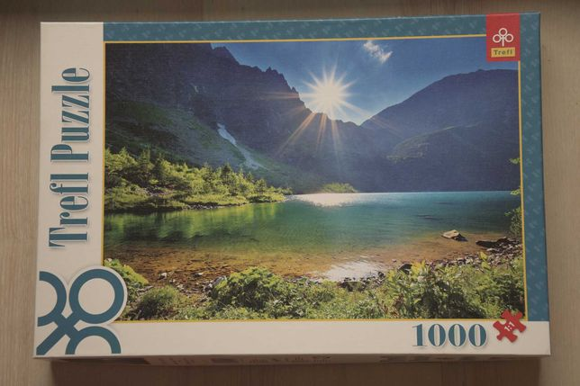 Puzzle Trefl 1000 elementów kompletne
