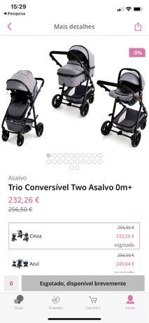 Carrinho Trio Asalvo