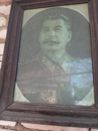 Портрет Сталина картина