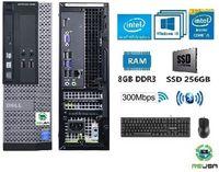Pc Student Low Cost 4Gª DELL-i5-3.2GHz,8Gb, Ssd256Gb, WIFI,KIT,BT,W10