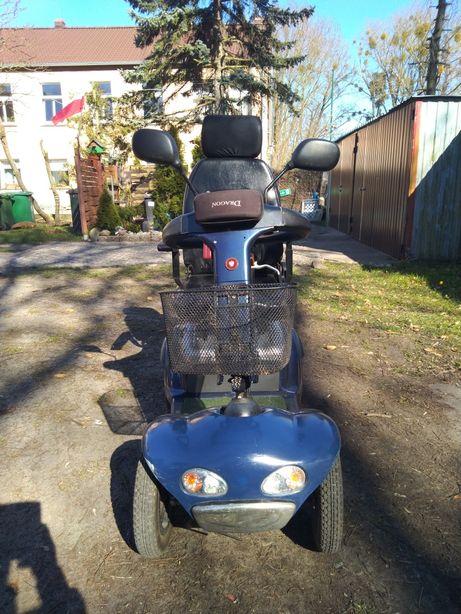 Wózek inwalidzki skuter elektryczny