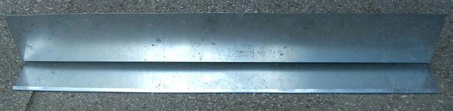 Wiatrownica na balkon lub taras długość 1 m tytan cynk