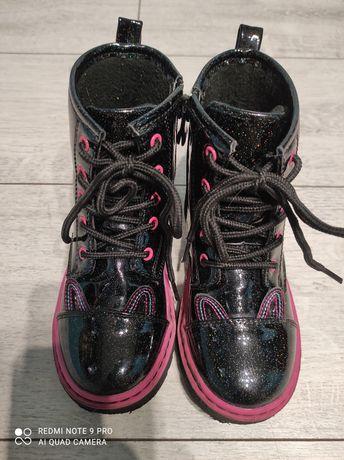 Buty trapery dla dziewczynki r28