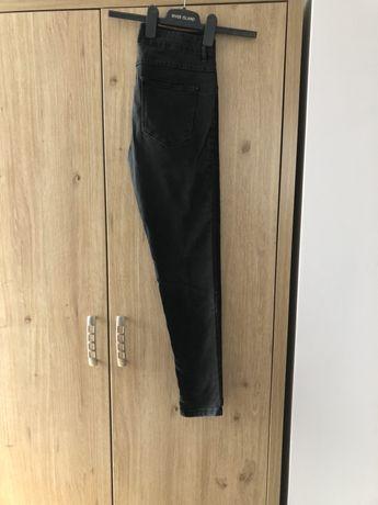 Jeansy, spodnie, jeansy damskie szare, czarne 40 M L Reserved