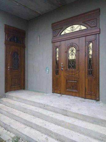 Реставрация бронированных дверей, замена замков. Накладки из МДФ