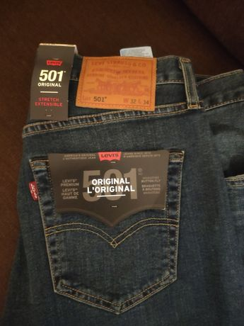 Spodnie męskie Levi's 501 Snoot.