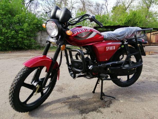 Sparta LUX 125cc,с дисковым тормозом или обычный(Новые с гарантие