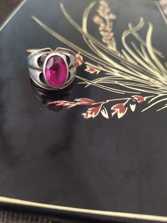 Перстень, кольцо, кольцо с камнем, кольцо серебряное