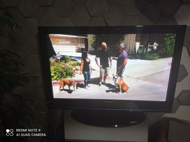 TV 40 cali Samsung LCD