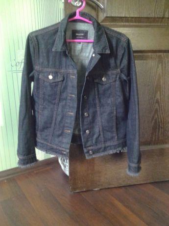 Massimo Dutti джинсовый пиджак