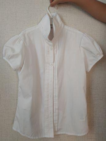 Школьная рубаха блуза M&S для девочки 9-10 лет