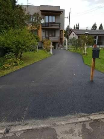 Asfaltowanie drogi dojazdowe asfaltowe, place prywatne , parkingi