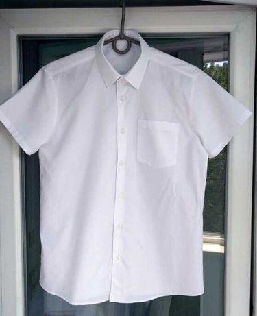 Рубашка школьная, тенниска, шведка, George на 9-10 лет р.135-140см