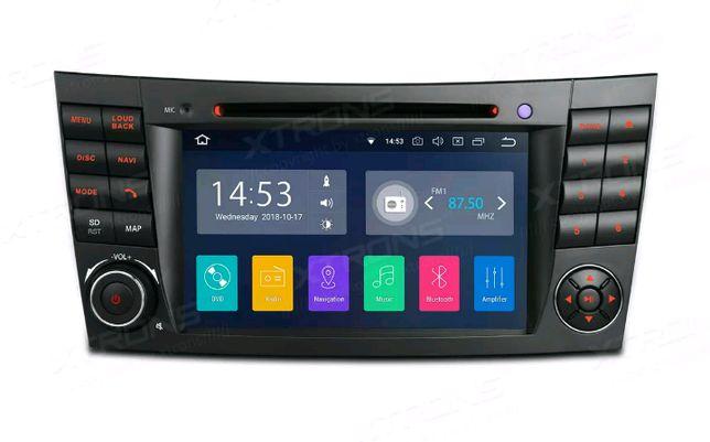 Mercedes-Benz w211 w219 Auto radio Android 9 novo !