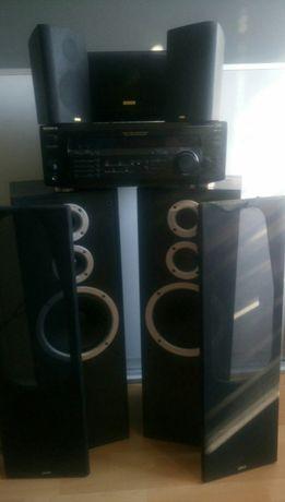 Jamo studio 180 oraz jamo surround 100 II, Amplituner sony str-de435