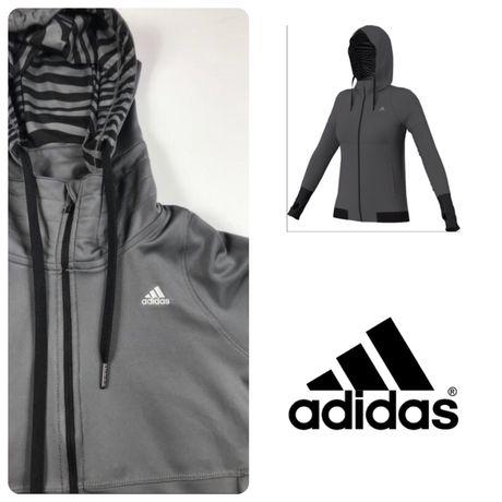 Adidas climalite women's hoodie кофта капюшонка худи оригинал