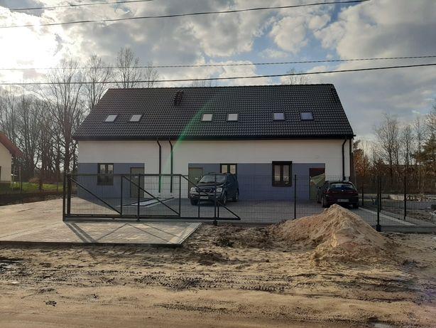 Działka z pozwoleniem na 4 domy szeregowe PRACE ROZPOCZETE