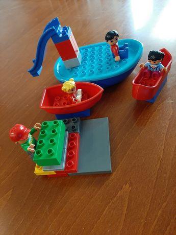 Lego Duplo łódka statek