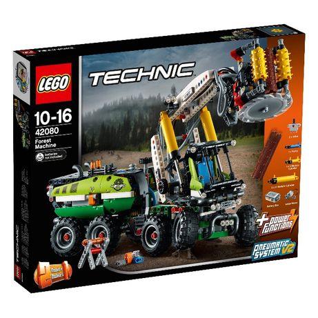 Lego Technic 42080 Maquina Florestal ( novo )