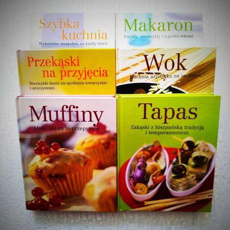 Kolekcja książek kulinarnych