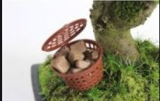 cesto para adubo orgânico BONSAI e FLORES