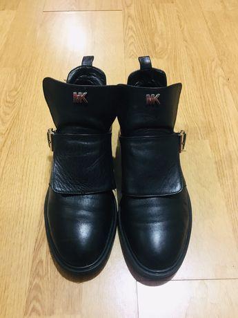 Женские ботинки кожа!