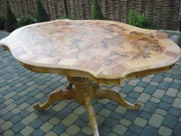 stół barok po renowacii