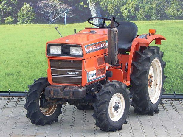 mały traktor japoński Hinomoto E1804 traktorek sadowniczy
