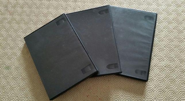 Caixas arquivadoras DVD