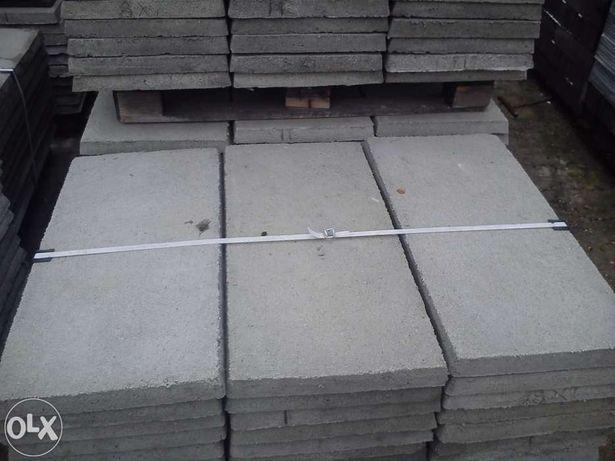 Płyty betonowe zbrojone drutem fi 6 nakrywowe, grobowe.