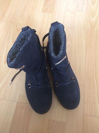 Buty kozaczki firmy HILFIGER 42 dl wkładki 25,5
