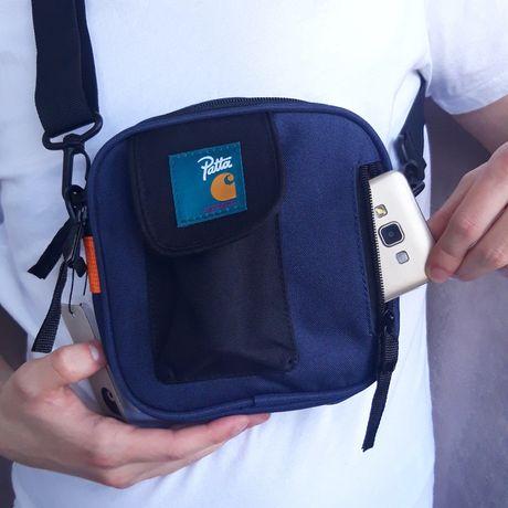 Carhartt vs Patta Original месенджер, сумка кархарт, сумка через плечо