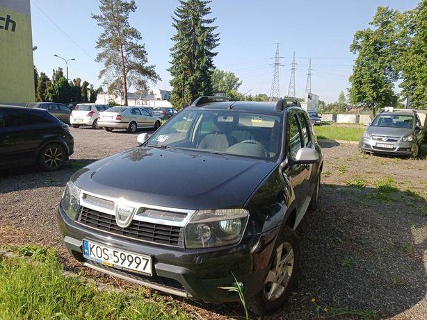 Dacia Duster 4x4, rok produkcji XII 2011, pierwsza rejestracja 2012
