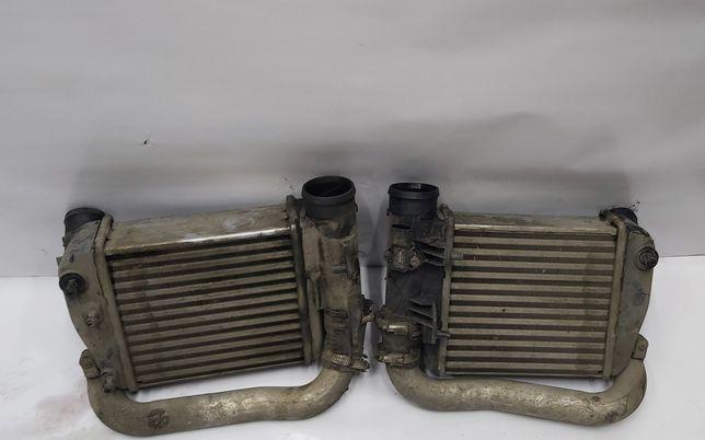 Радиатор Интеркулера L/R Audi A6 C6 3.0 Tdi 4F0145805AF/4F0145806AA