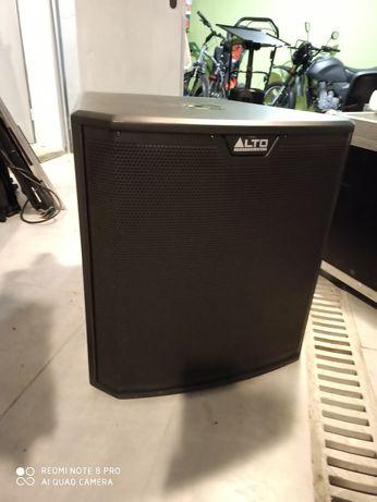 Subwoofer aktywny ALTO ts215s mega mocny idealny bas głośnik basowy
