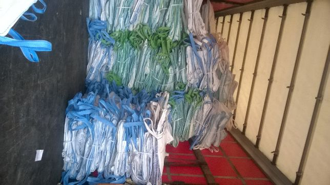 Worki big bag beg 100/100/160m cm na przemialy pet
