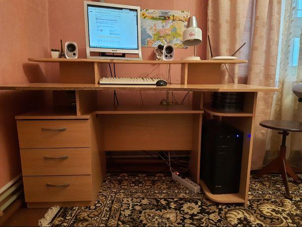 Стол компьютерный письменный стол 1,5 м.