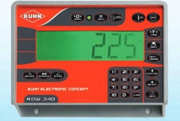 Naprawa sterownika paszowozu, wymiana wyświetlacza LCD Kuhn DafAgro