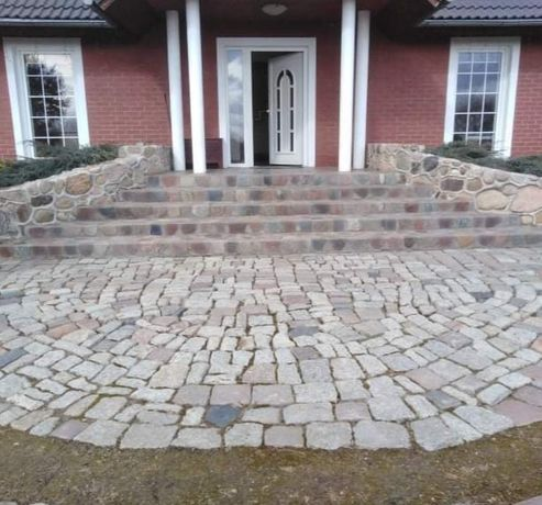 Kamień polny cięty oraz układanie kamienia