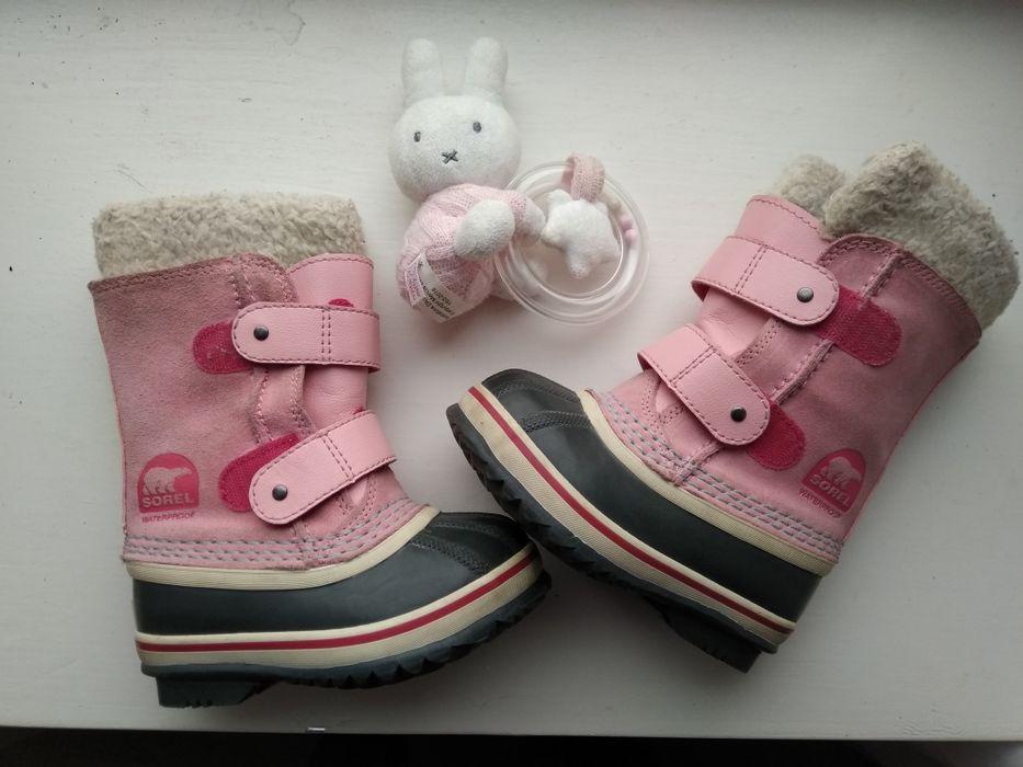 Sorel чобітки 13 см 25 розмір ботинки зимове взуття Луцк - изображение 1