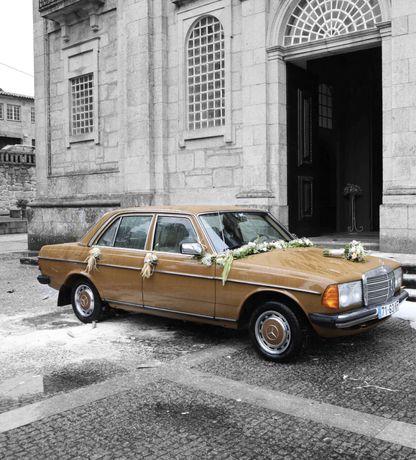 Aluga-se carro para Casamentos no Alto Douro