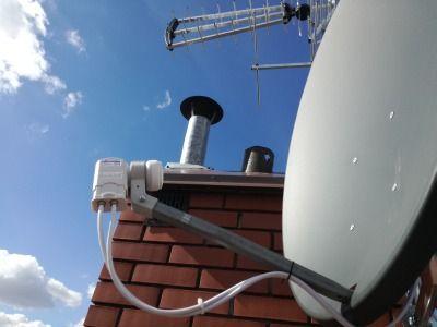 Montaż, ustawianie, naprawa, sprzedaż anten satelitarnych i naziemnych