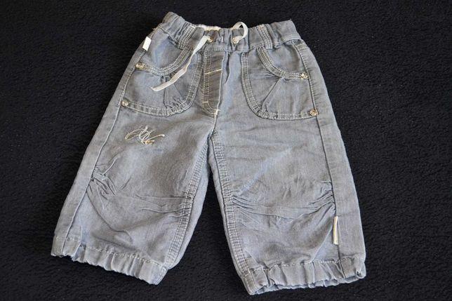 Серые штаны с камнями размер 68