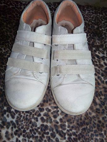 кроссовки, кросівки 33 размер ECCO кожаные на липучках